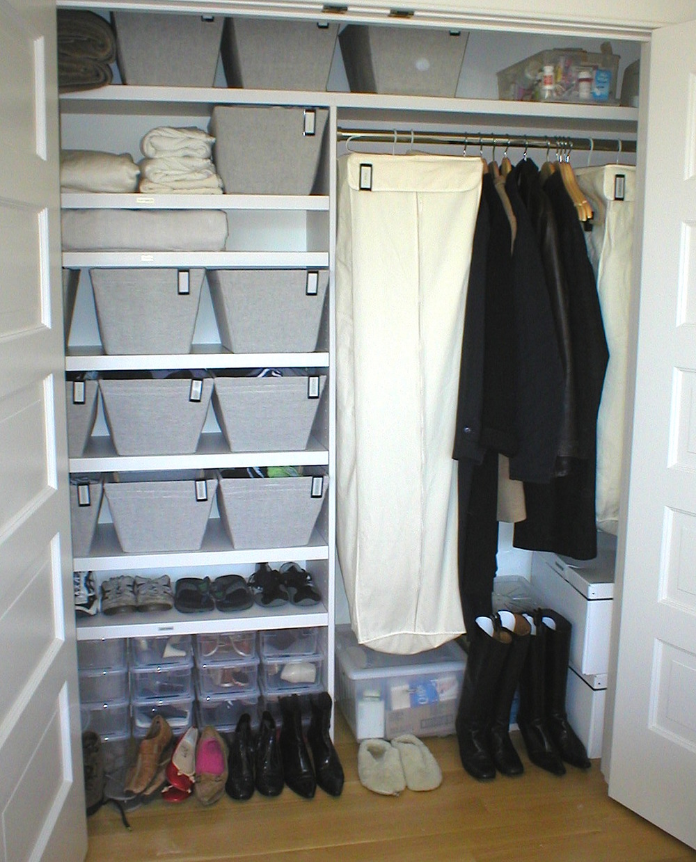 After : Secondary Bedroom Closet
