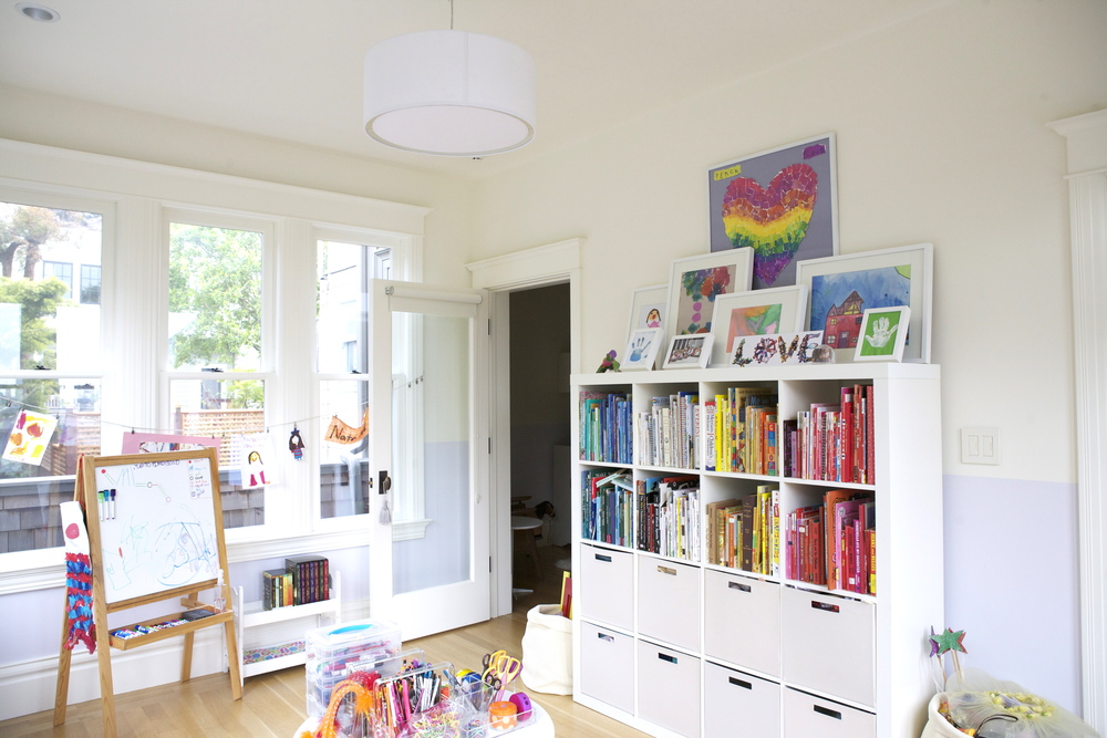 After : Playroom : Organizing & Interior Design Consult with EKR Design Studios