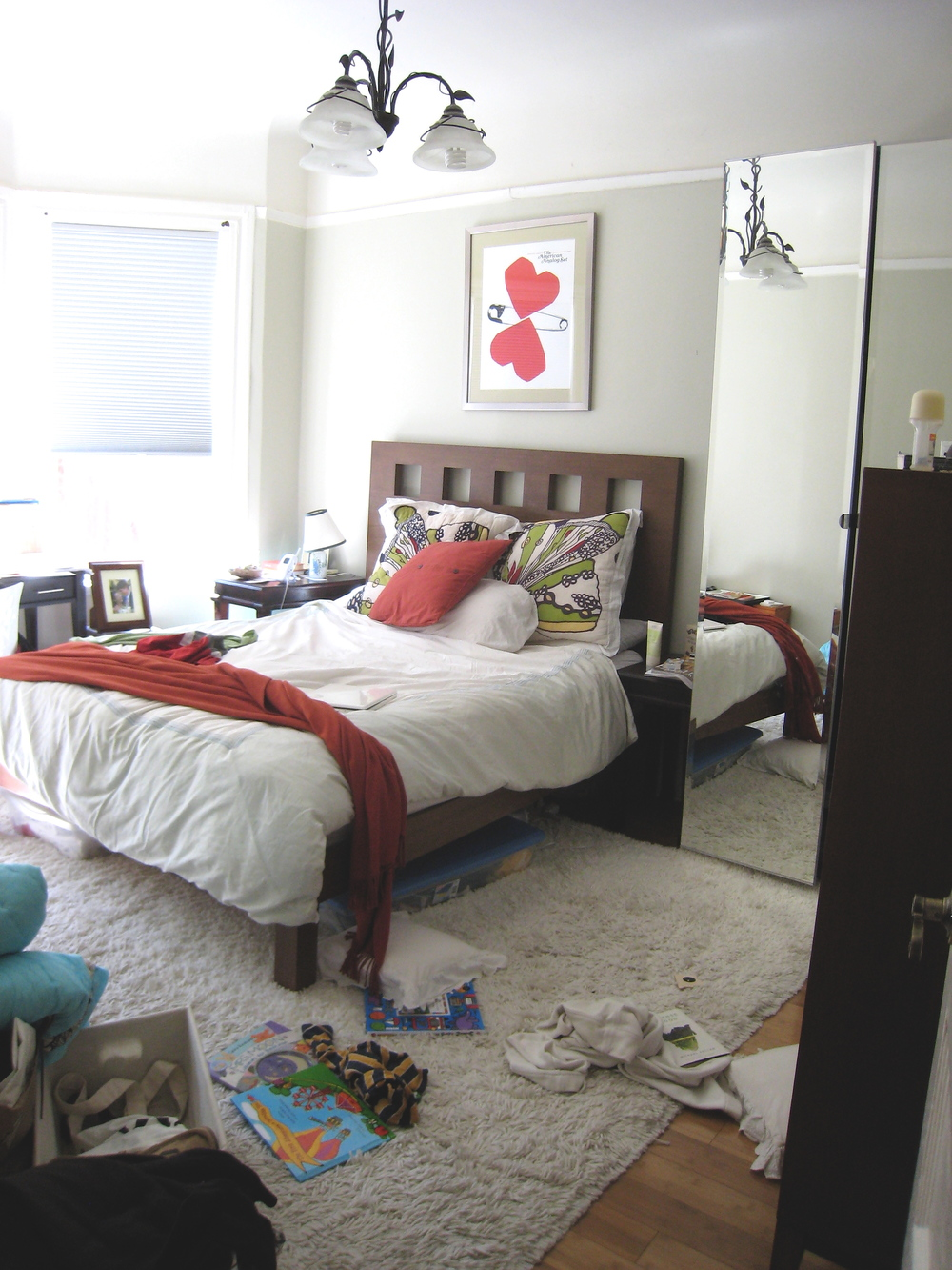 Before : Bedroom : Interior Design Consult & Organization