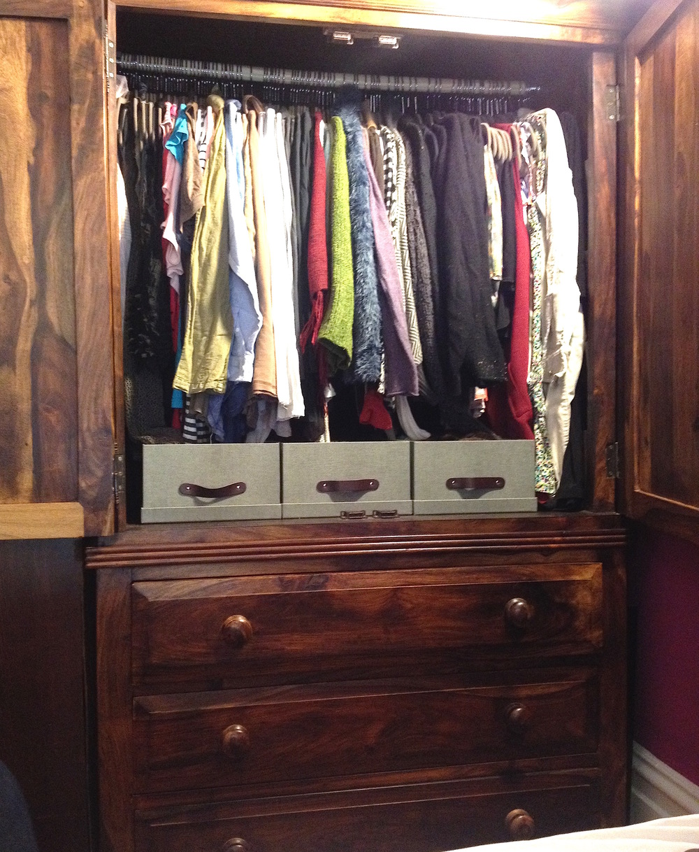 After : Closet Armoire