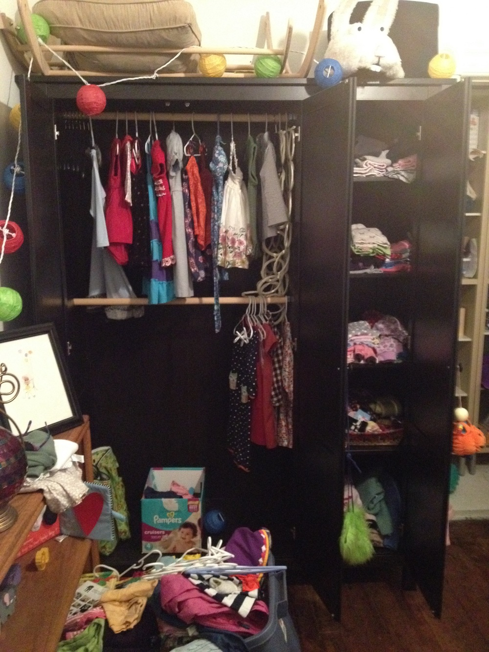 Before : Child's Closet
