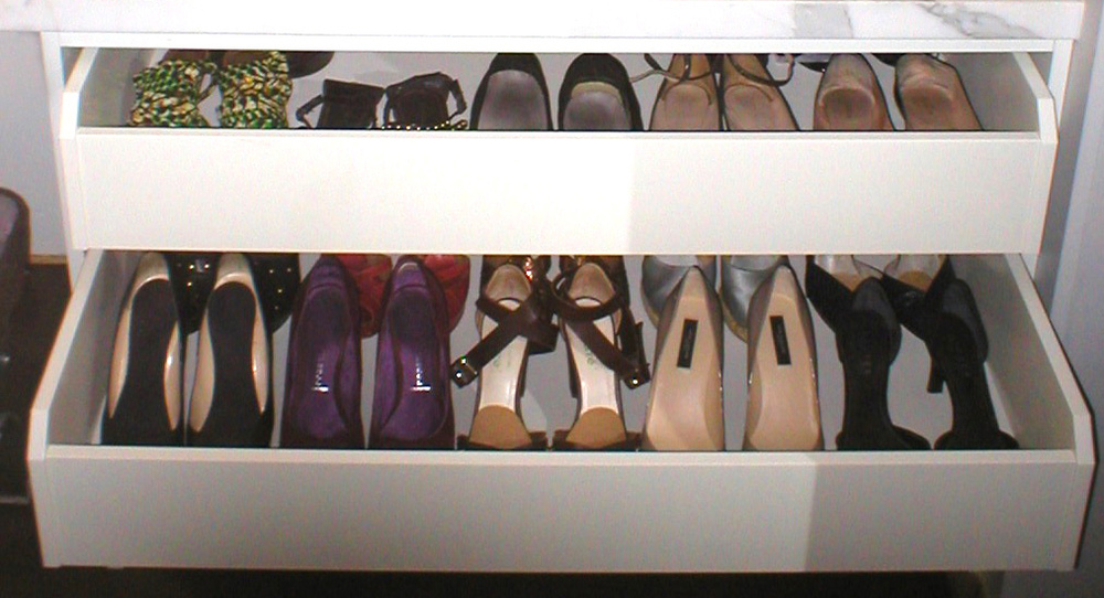 After : Closet Detail