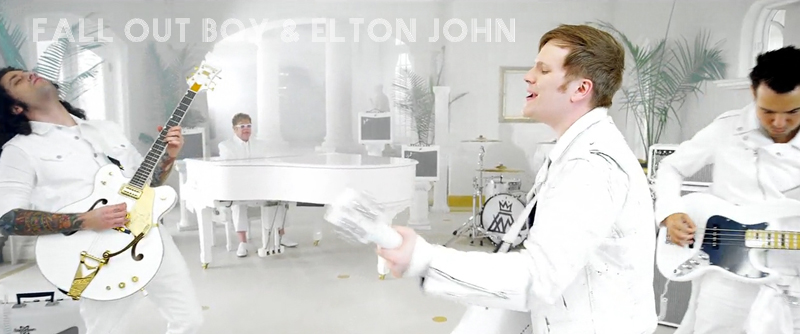 fall out boy & elton john • save rock n roll • directors • DONALD/ZAEH