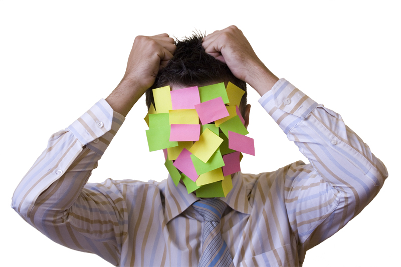 Adult ADHD Sticky Notes