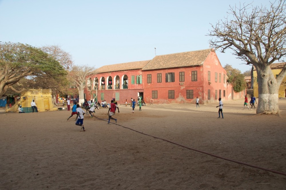 Colonial Building in Goré Island, Senegal - Image courtesy of myworlddiscovered.com