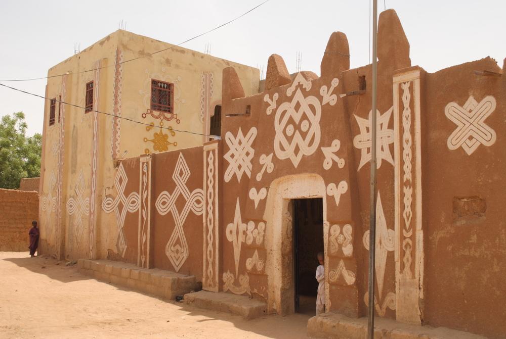 House facade in Zinder | Image ©Mariam Kamara