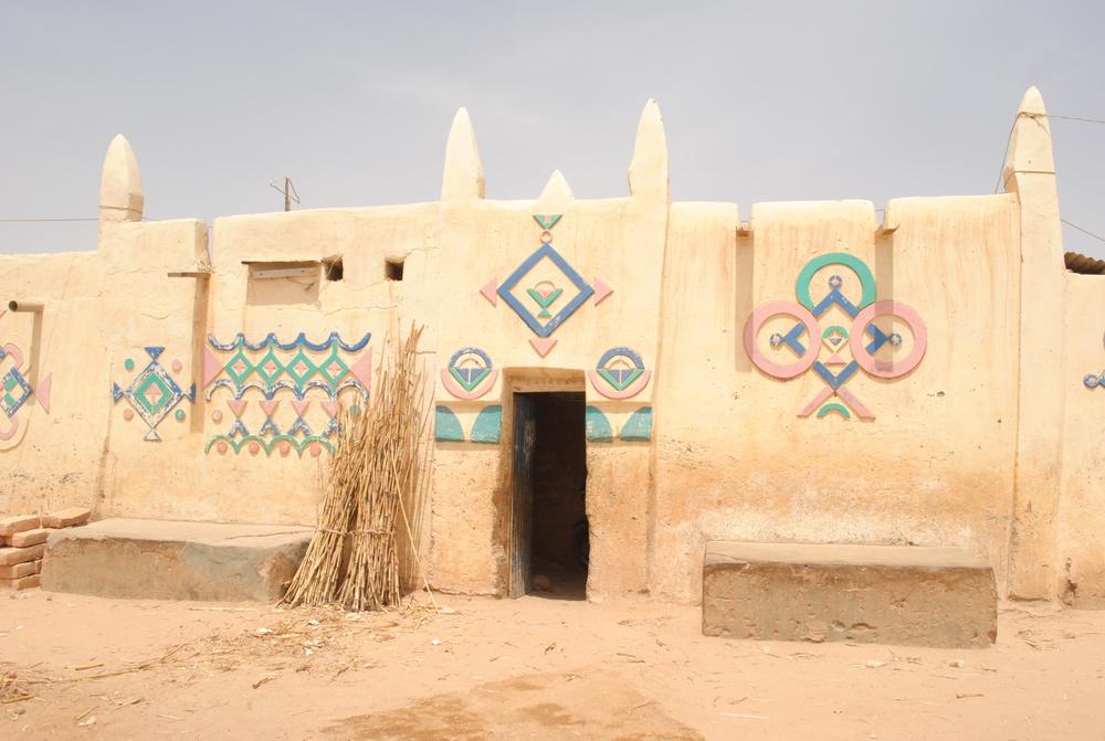 House facade in Zinder ©Mariam Kamara