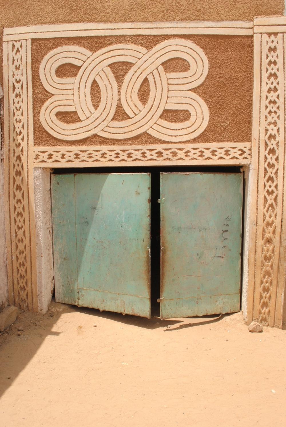 House garage door in Zinder ©Mariam Kamara