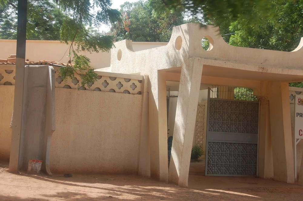 Grand entrance doorway in Niamey. ©Mariam Kamara