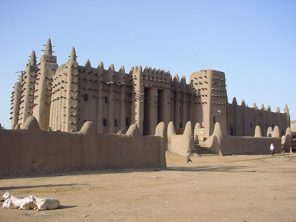Djénné Mosque, Mali. Courtesy of Wikipedia