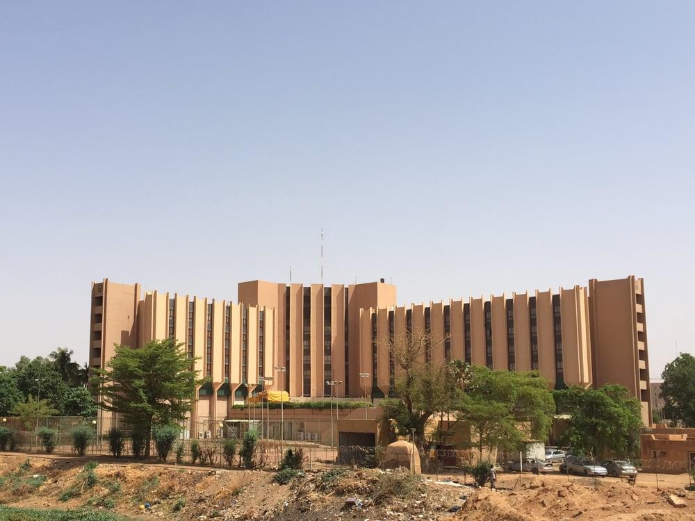 Hotel Gaweye. Niamey, Niger. Built 1981.