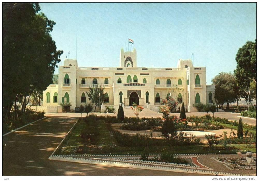 Original Presidential Palace. Niamey, Niger