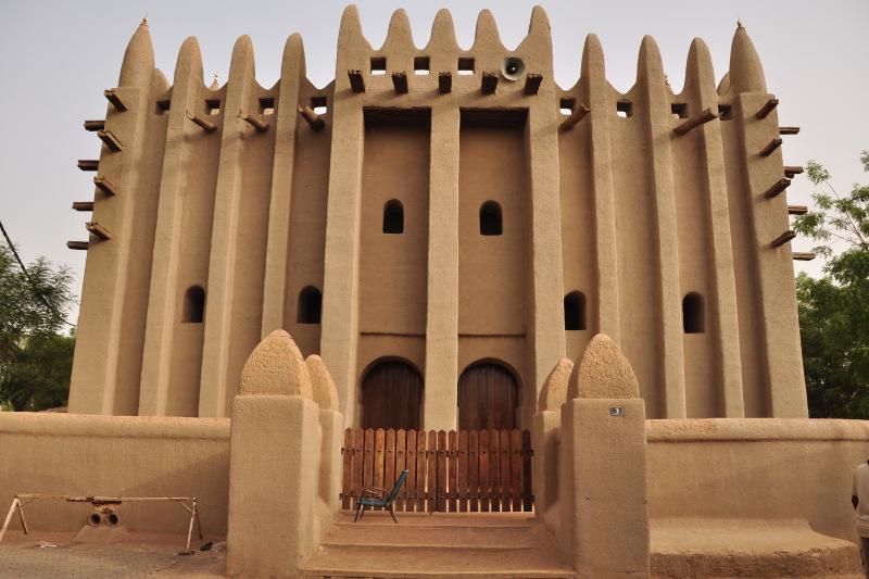 Komoguel Mosque. Mopti, Mali