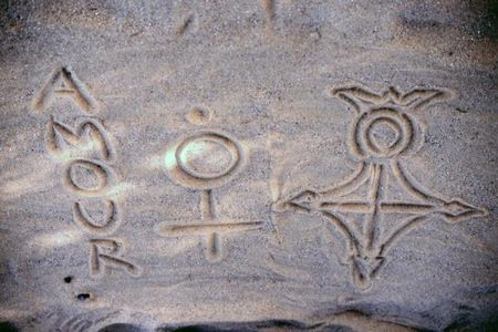Symboles de la croix d'Agadez