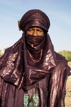 Homme touareg, Agadez