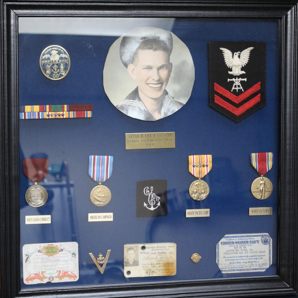 Most of Arthur's Awards and Accolades for World War II.