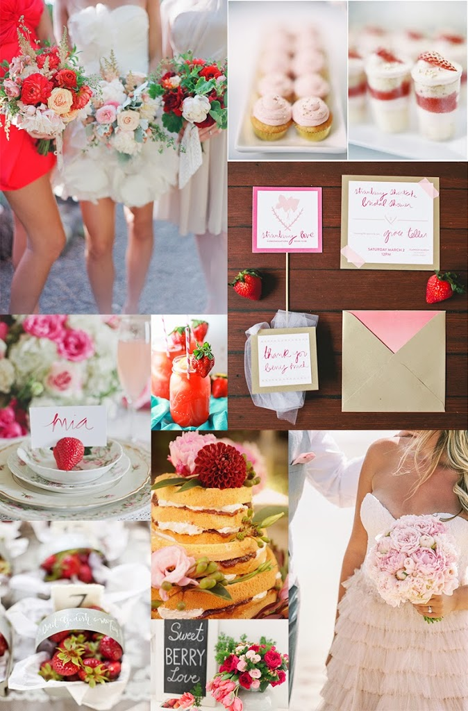 Strawberries in July by L. brook events