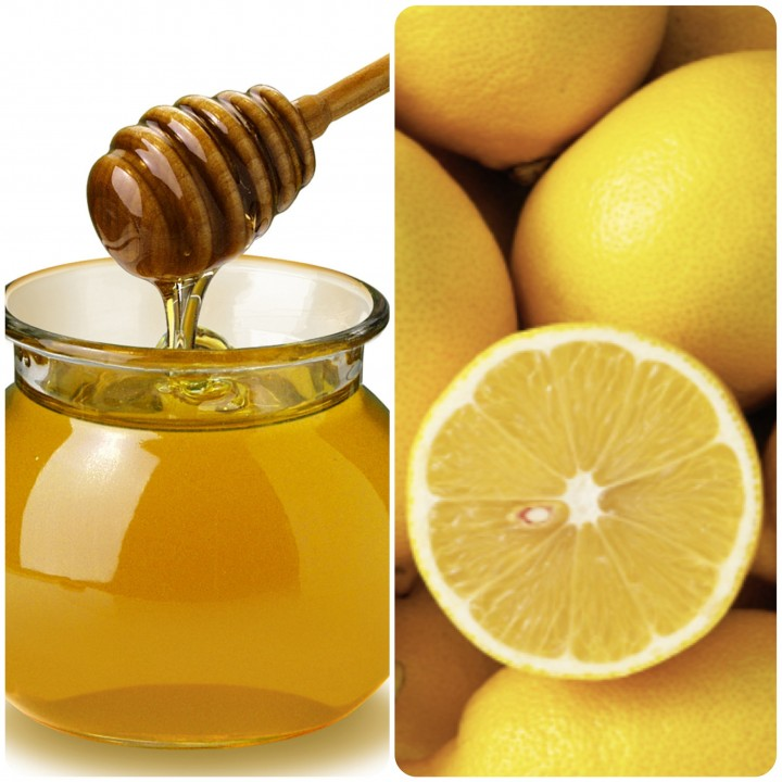 Honey and Lemon - ingredients for the face mask