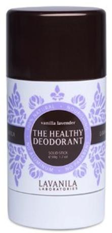 Vanilla lavender deodorant stick