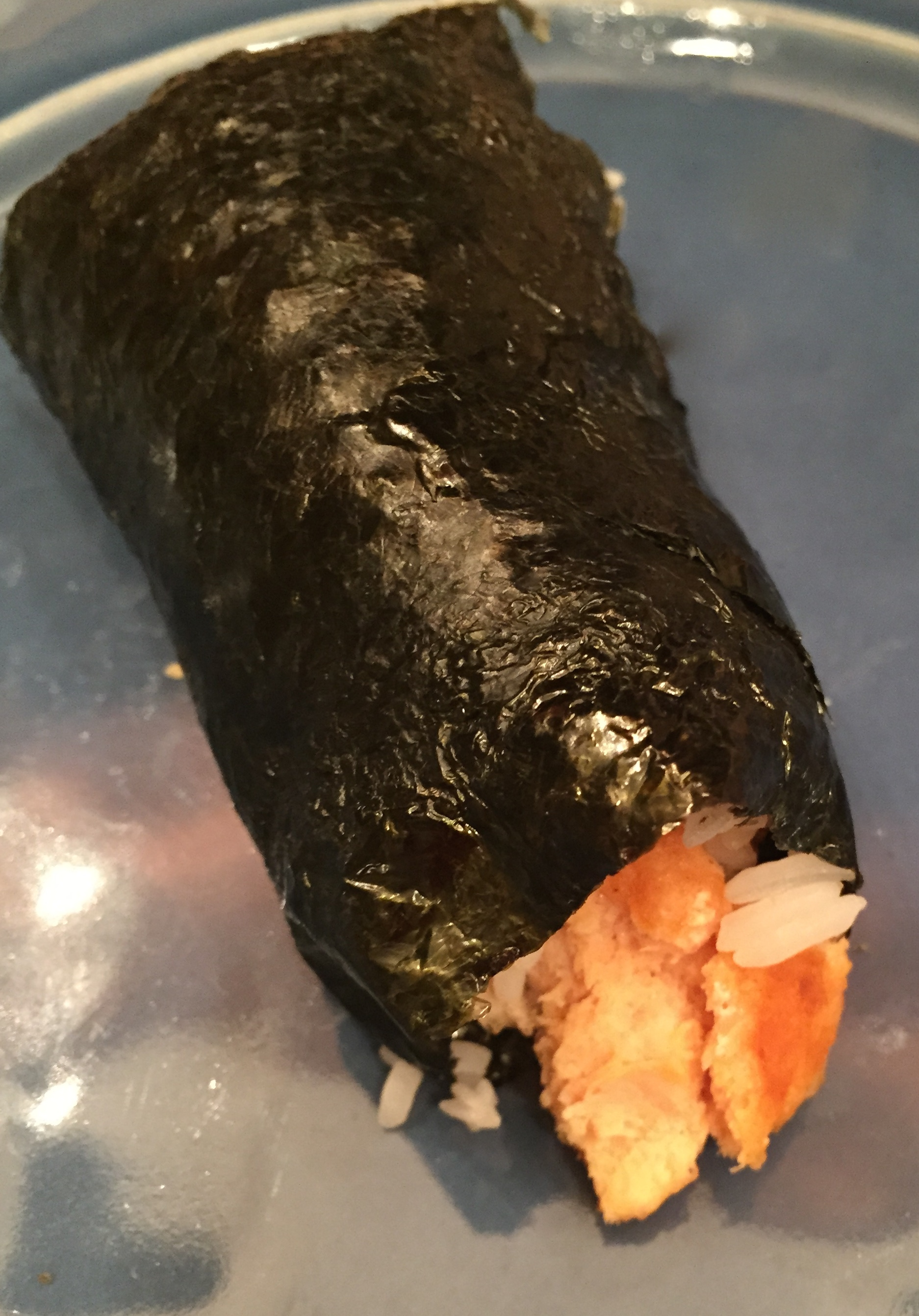 5 min salmon rolls