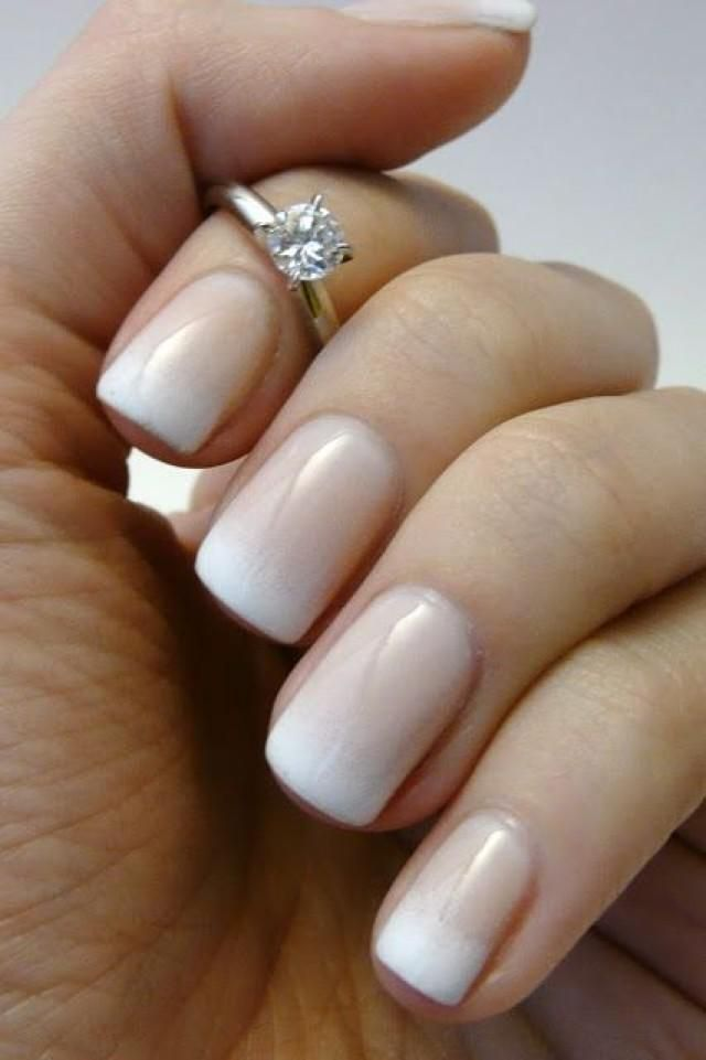 Ombre french bridal