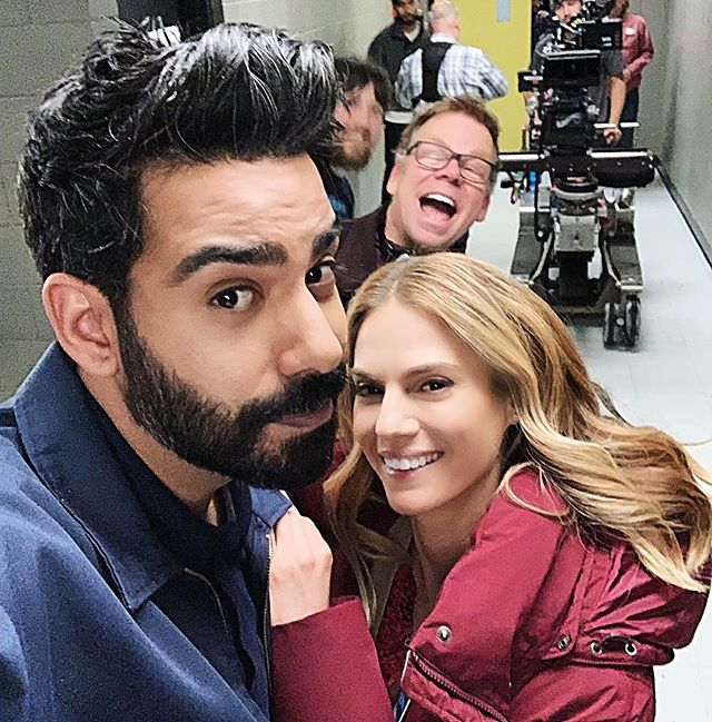 Best. Day. 🙌🏻 @thecwizombie Thank you @rahulkohli13 u are such an enormous talent. Coming at you in 2019!! Officially on VACATION!! HAPPY FRIDAY!!! ❤️❤️❤️❤️ #izombie