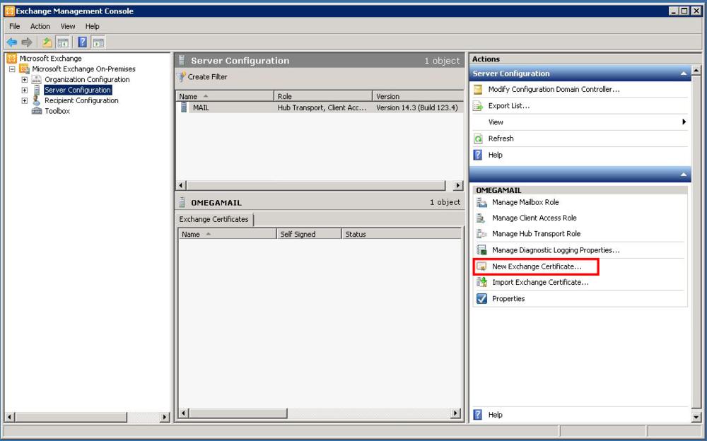 Exchange 2010 Server Certificates Part 1 Capstan Services