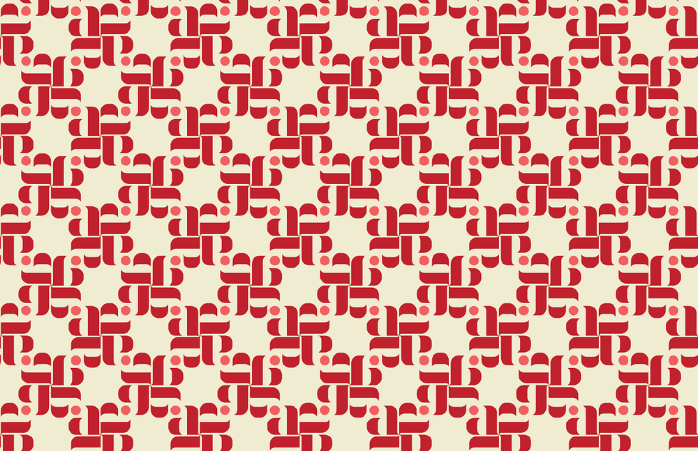 Aria Print Coral