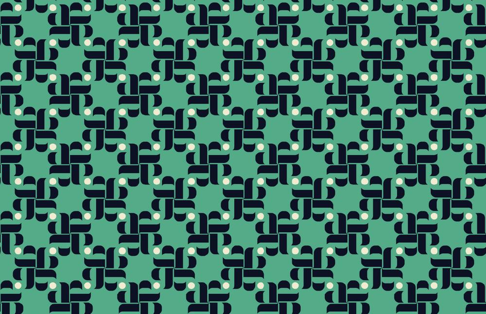 Aria Print Turquoise