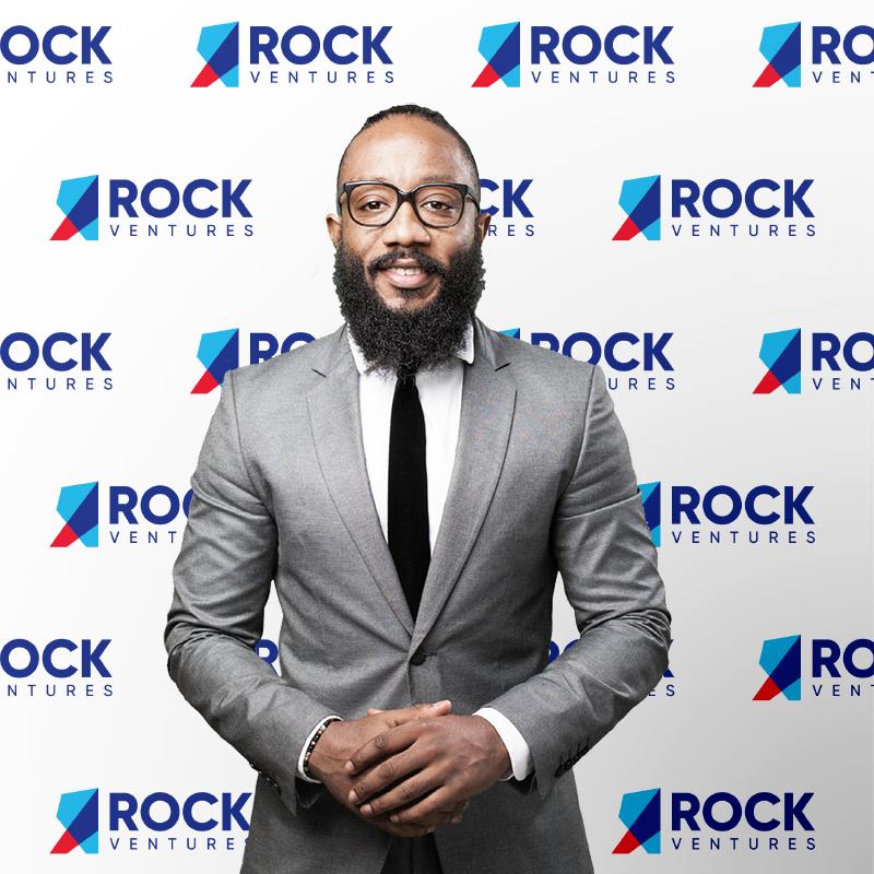 Rock Ventures Rebrand Media Backdrop