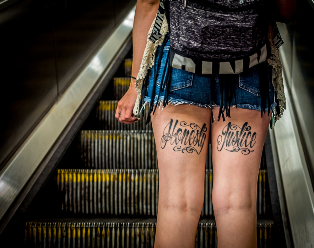 Honesty, Justice - NYC Subway