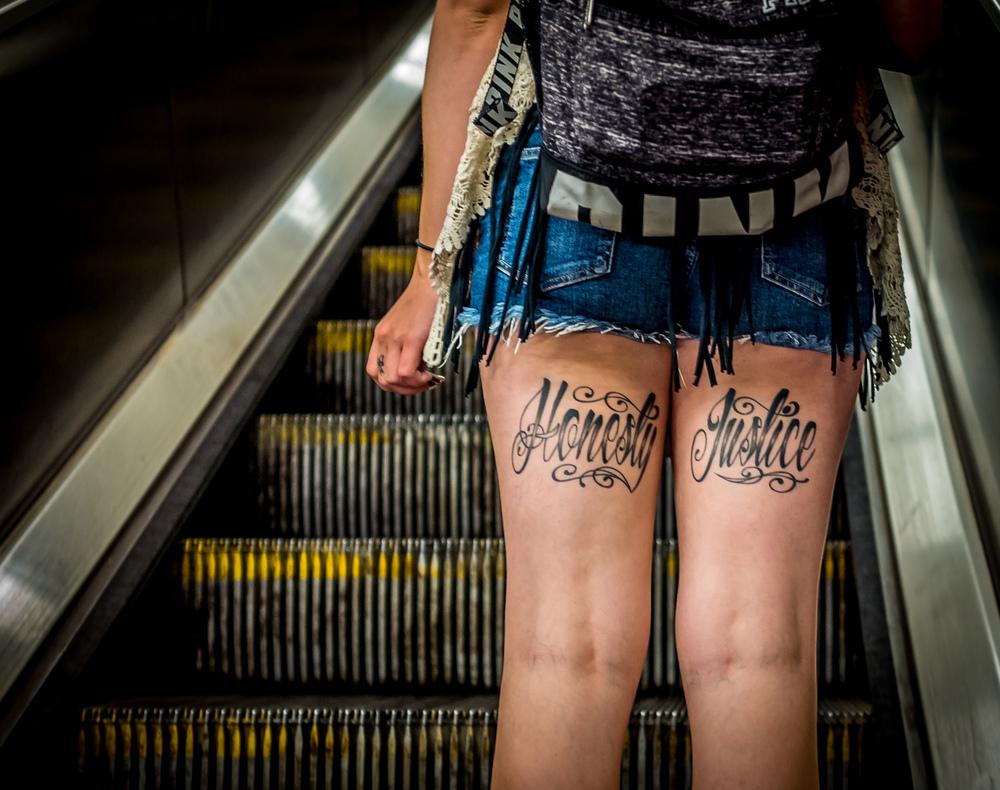 Honesty, Justice - NYC Subway