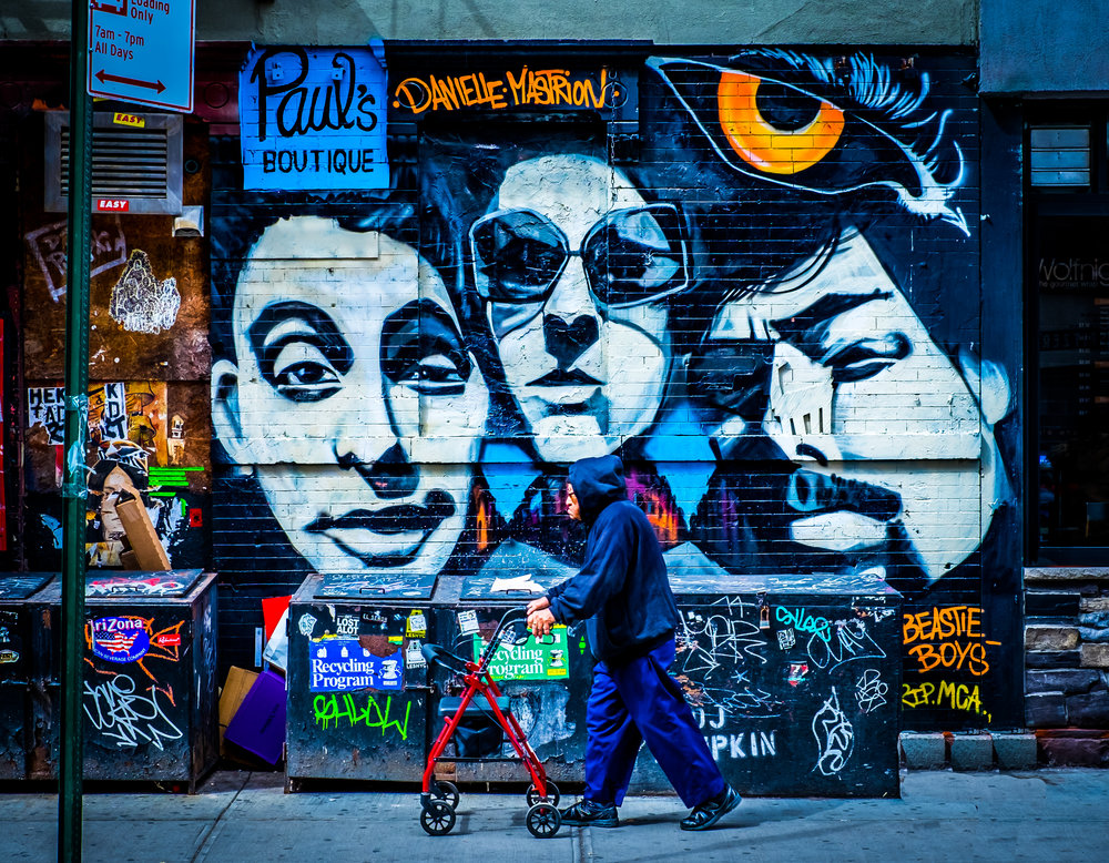 Beastie Boys Mural - Ludlow St.