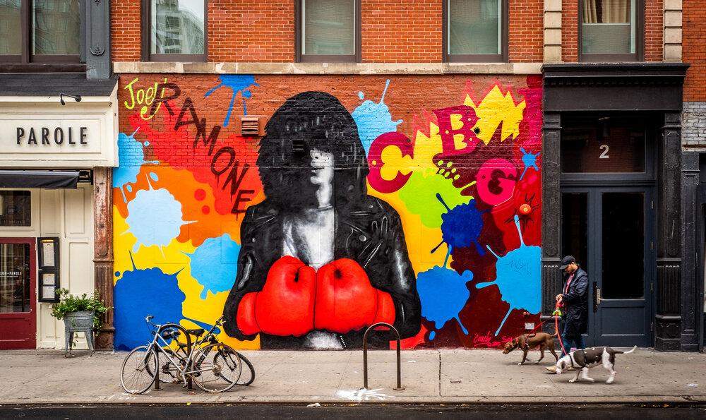Joey Ramone Tribute, Bowery St.