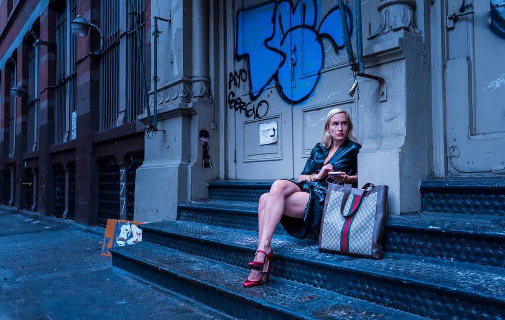 fashion week stray