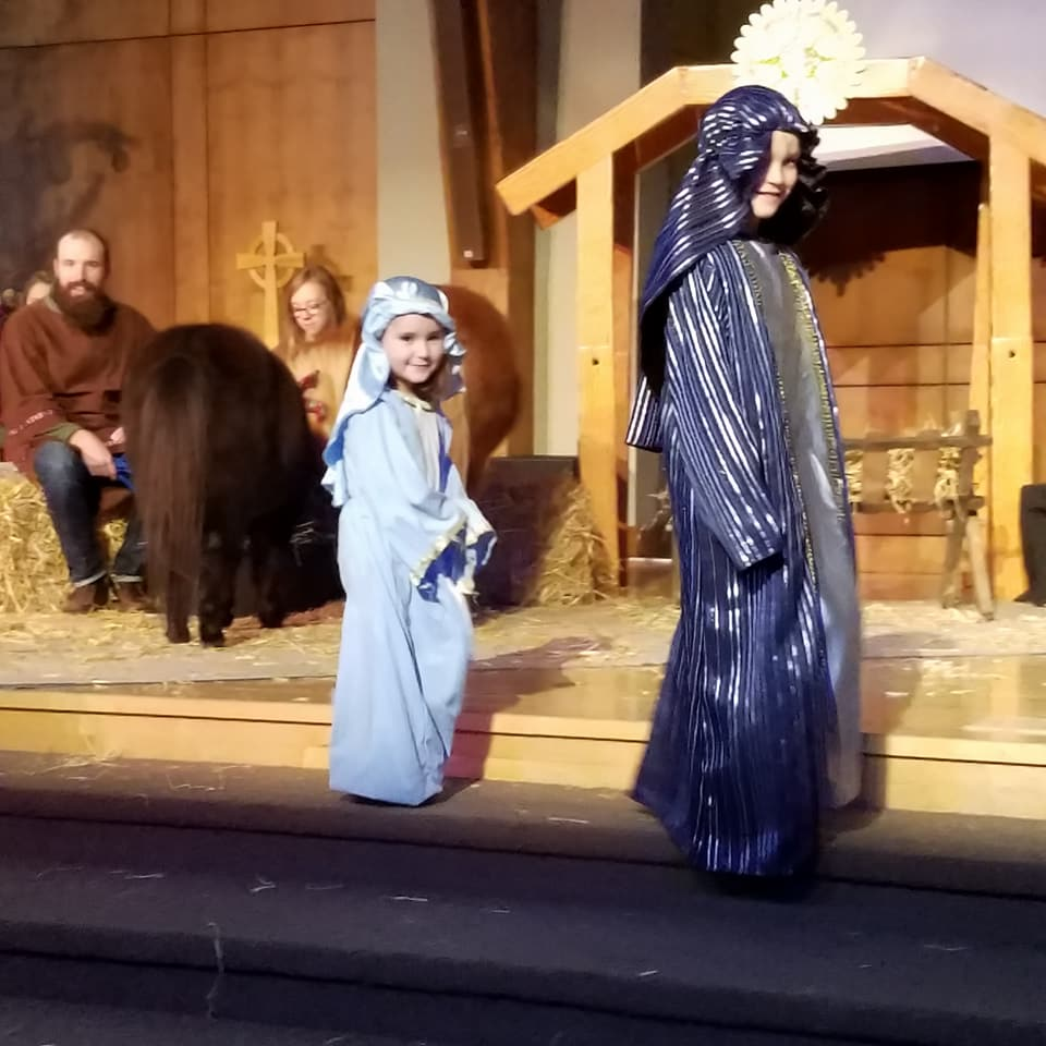 Joseph and Mary Look for the Inn.jpg