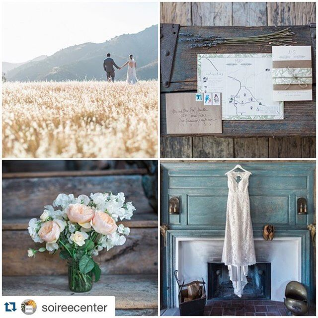 #Repost @soireecenter ・・・ Oh @figmtnfarmhouse, how your breathtaking views and rustic charm make us weak in the knees! Bravo to our beloved members @kielrucker, [new mom] @joellecharming, and @ellamade_sb [ + our friend @ella_and_louie] for this stunning feature on @borrowednblue!