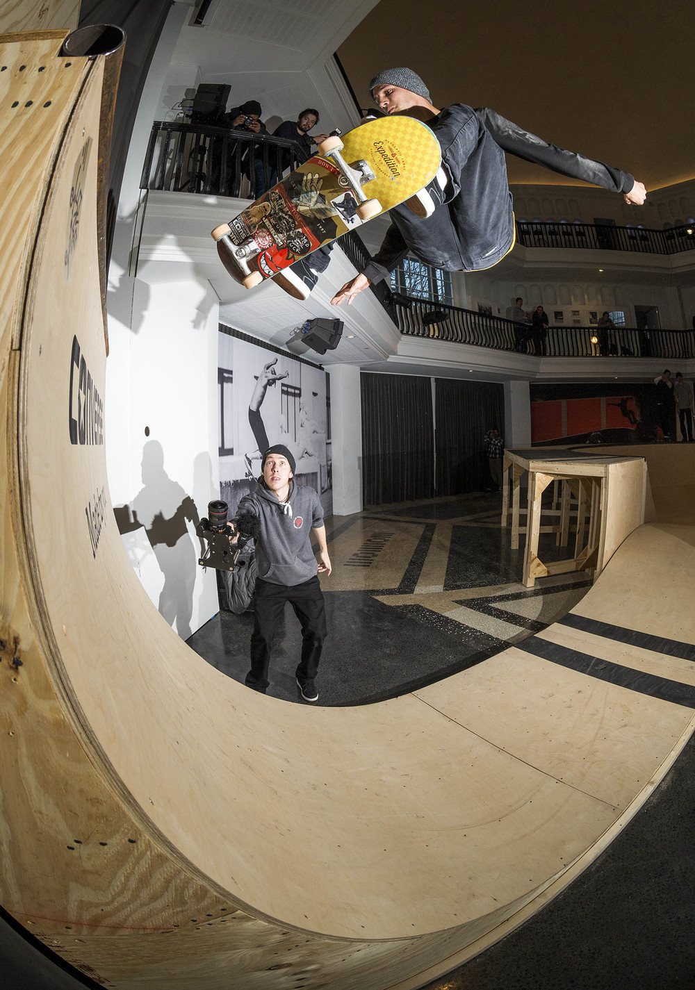 Tom Remillard | Fakie HalfCab Ollie