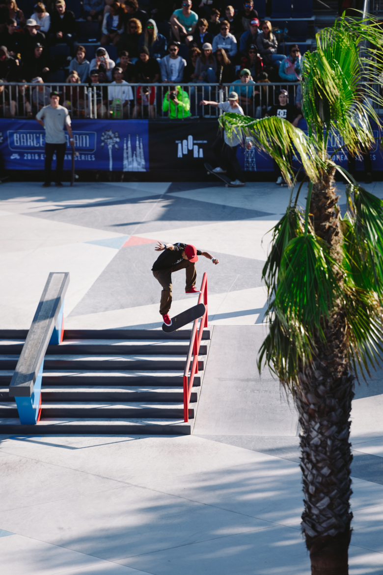 Ivan Monteiro tre flip to lipslide  Photo by Maskim K.