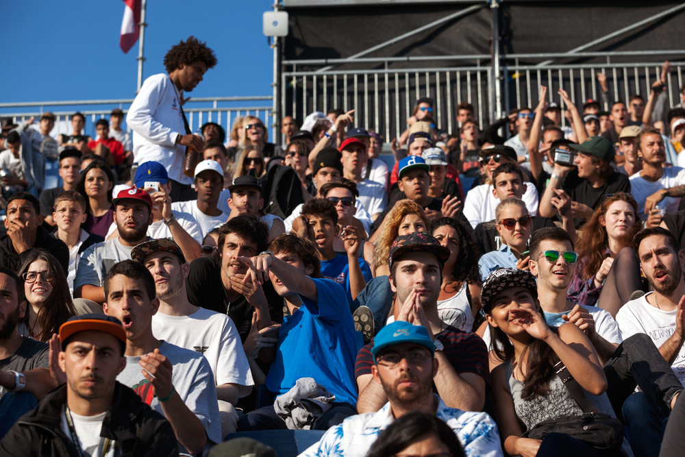 Crowd  Photo by Marcel Veldman