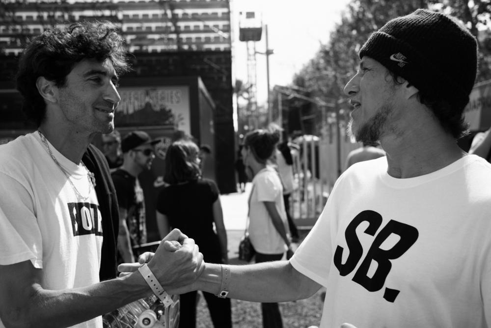 Legends Javier Samiento & Carlos Ribeiro  Photo by Marcel Veldman