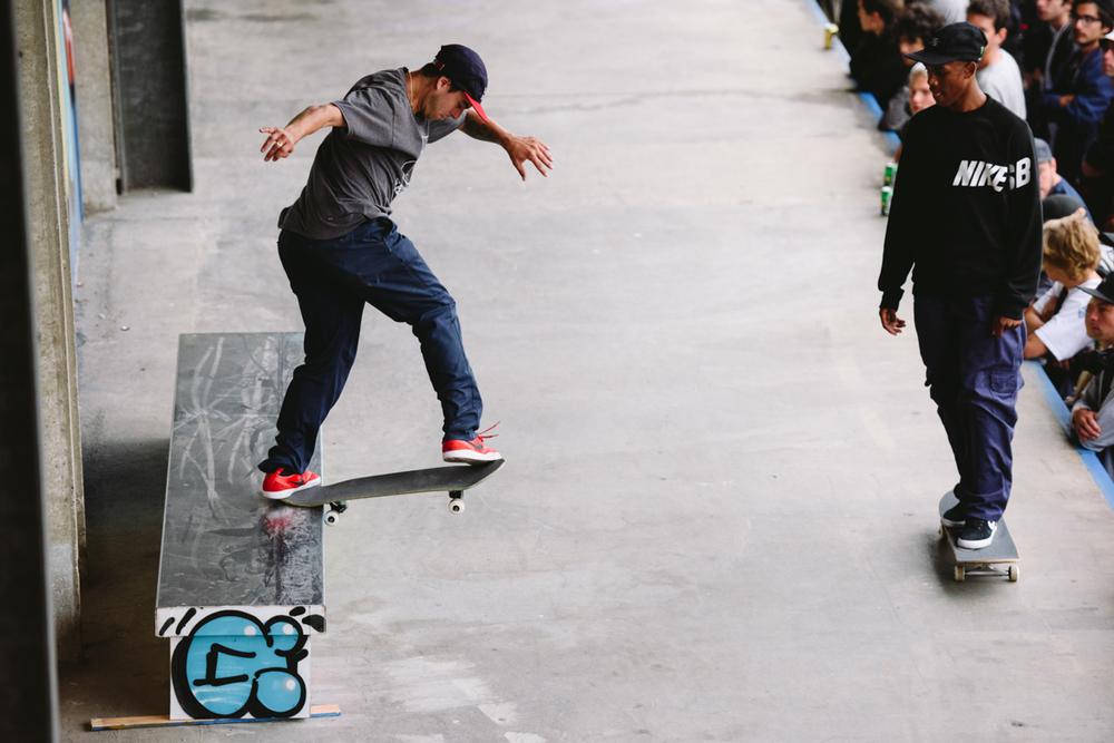 TJ Rogers Sw Flip Backside Tailslide