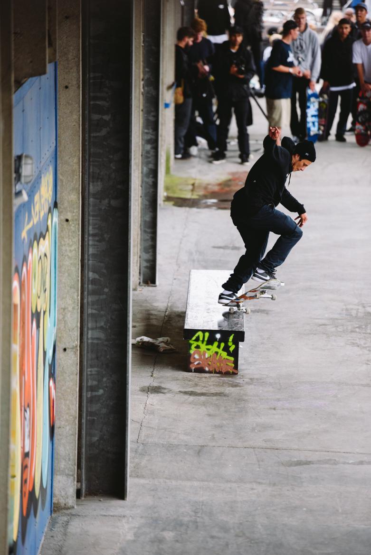Carlos Ribeiro Fakie Switch Backside 5-O