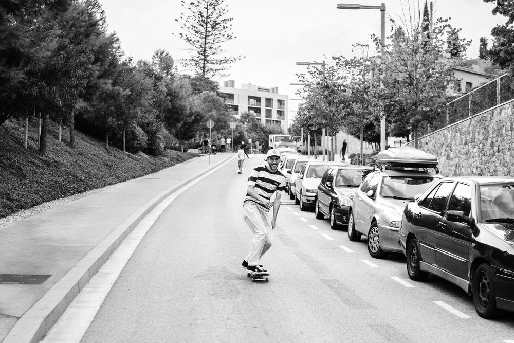 Downhill  → Photo by Roger Ferrero