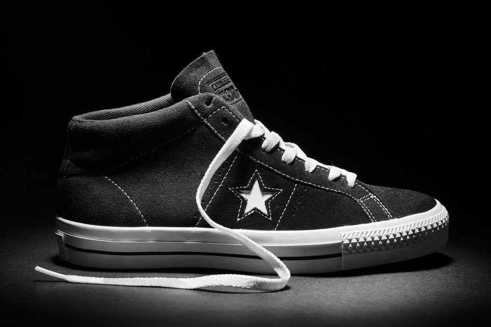 Cons One Star Pro Mid 90´s  → Photo by Roger Ferrero