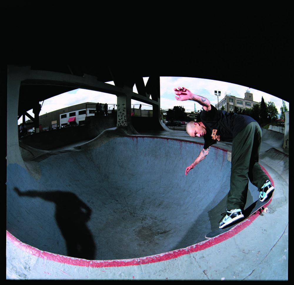 Brian Anderson  → BS Smith Grind