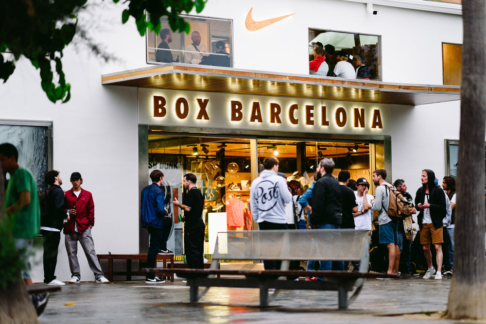 Nike SB Dunk Elite Low Launch Oskar Rozenberg  Photo → Maksim Kalanep