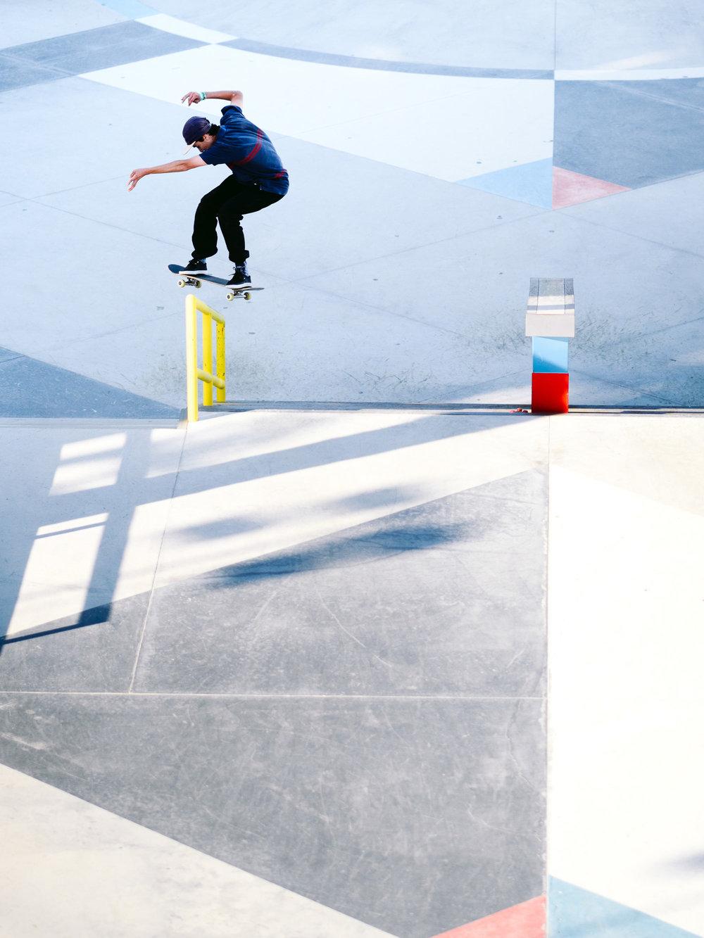 Tim Debauche Flip FS Boardslide