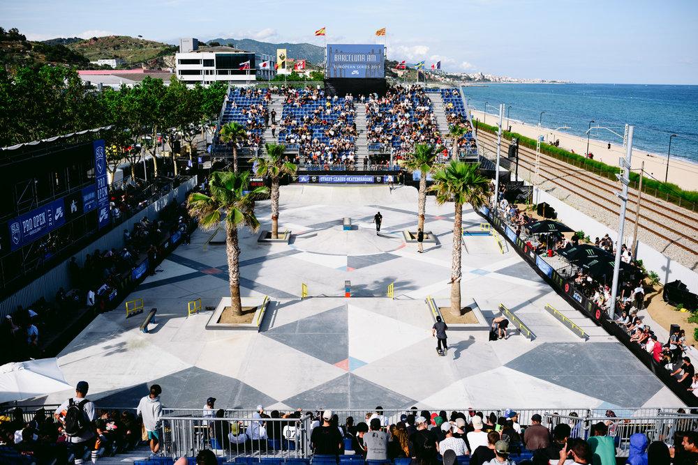Skate Agora Park Overview