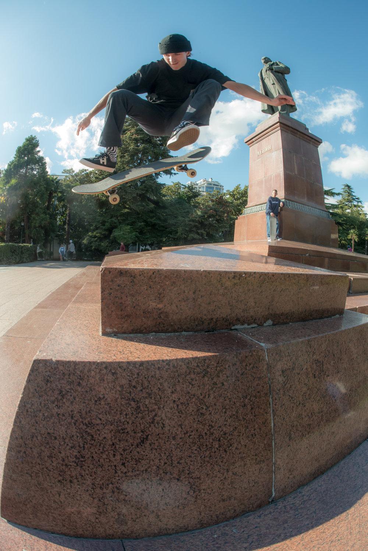 Sasha Groshevoy → Kickflip